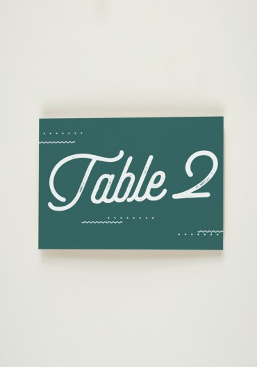 Nom de Table - Big Love