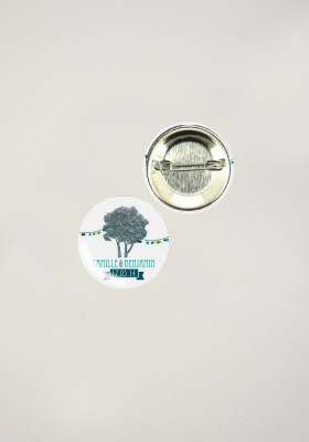 Badges - Happy Champêtre