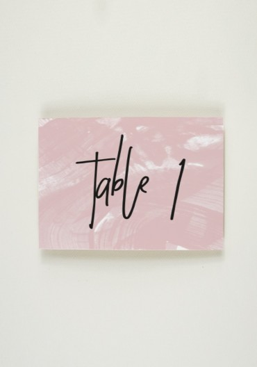 Nom de Table - Art and Country