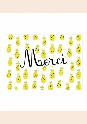 Remerciements - Ananamama Garçon