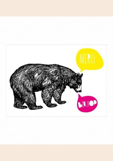 Remerciements - Papabear Fille