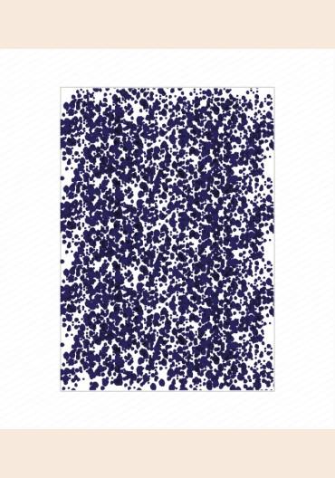Papier décoratif - quelque chose de bleu
