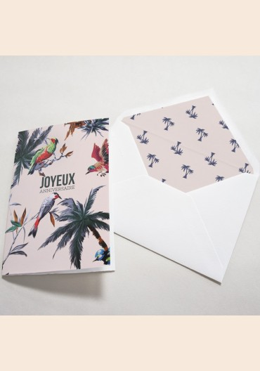 Pack cartes anniversaire - Birds of Love