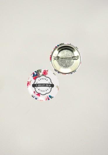 Badges - Tropical Fever