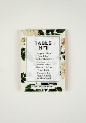 Plan de Table - Botanic