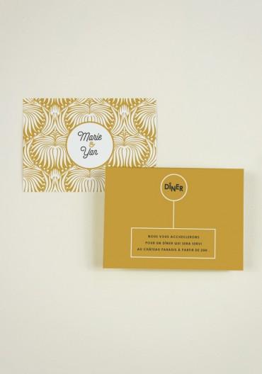 Carton  supplementaire - Art Nouveau