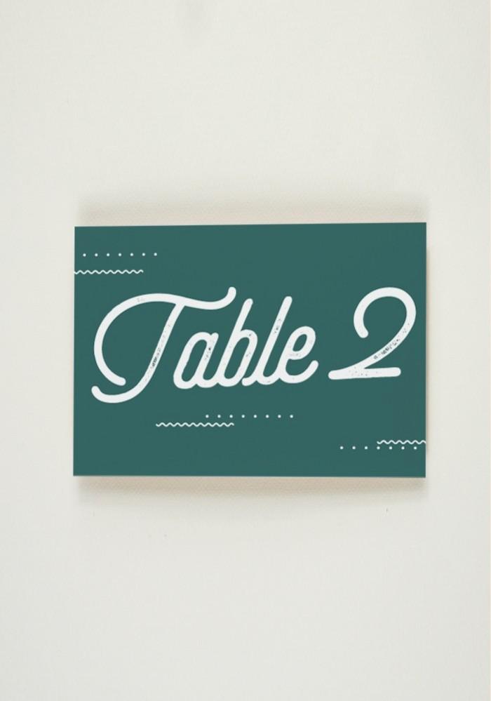 Nom de Table - Big Love