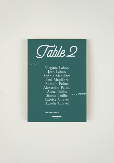Plan de Table - Big Love