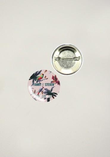 Badges - Birds of Love