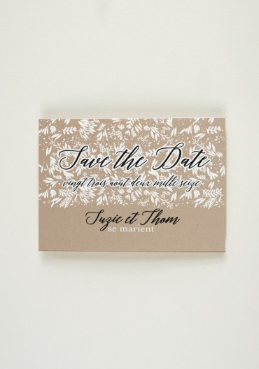 Save the Date - Folk Garden