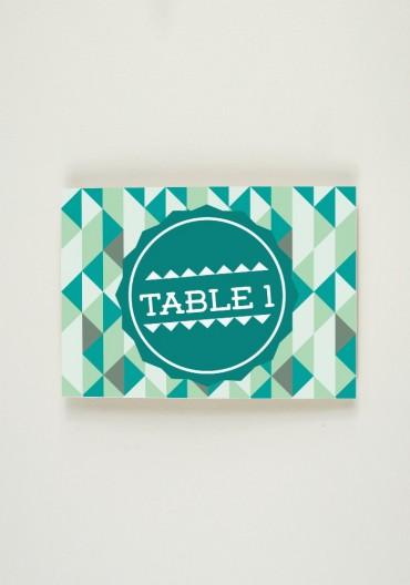 Nom de Table - Indian Summer