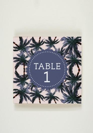 Nom de Table - Birds of Love
