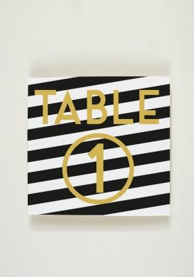 Nom de Table - Marble
