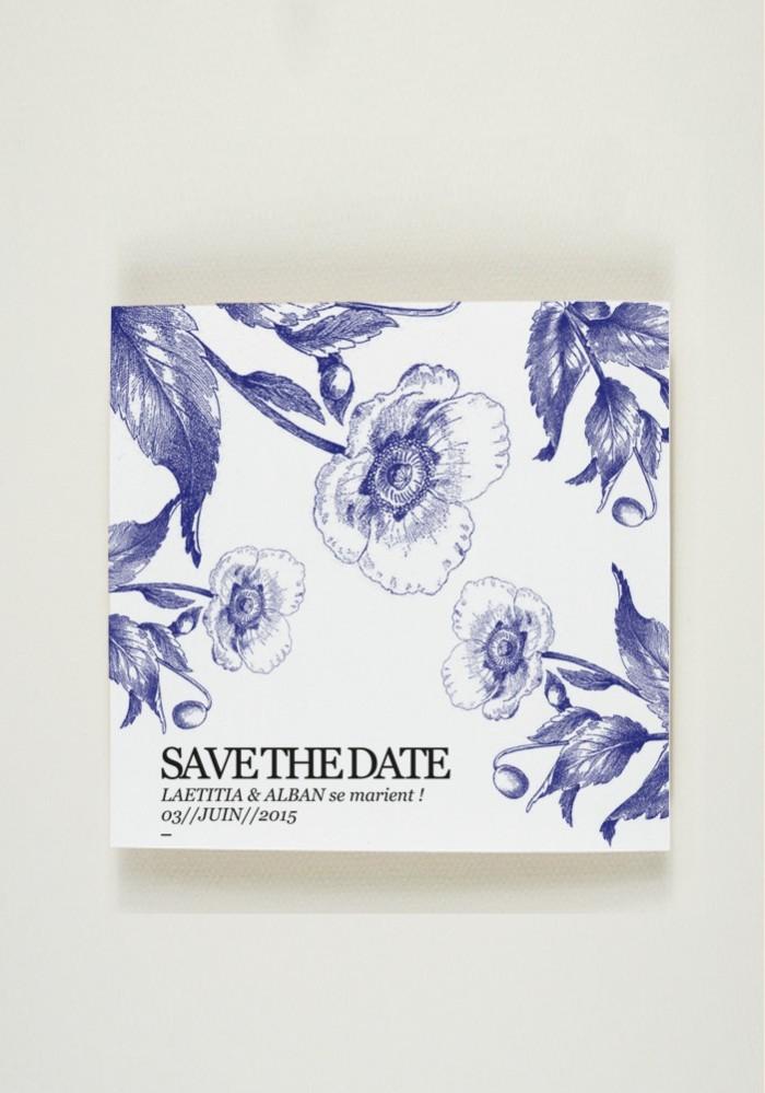 Save the Date - Quelque chose de bleu