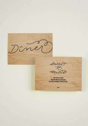 Carton  supplementaire - Love in da Wood