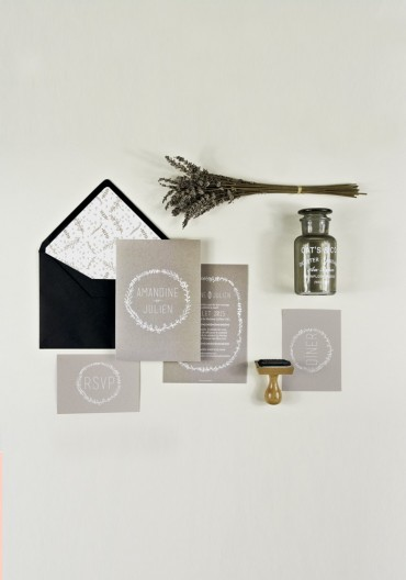 Wedding Pack - Faire-part + Carton + RSVP