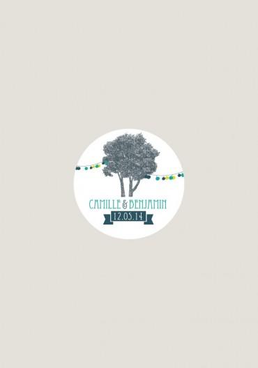 Stikers - Happy Champêtre