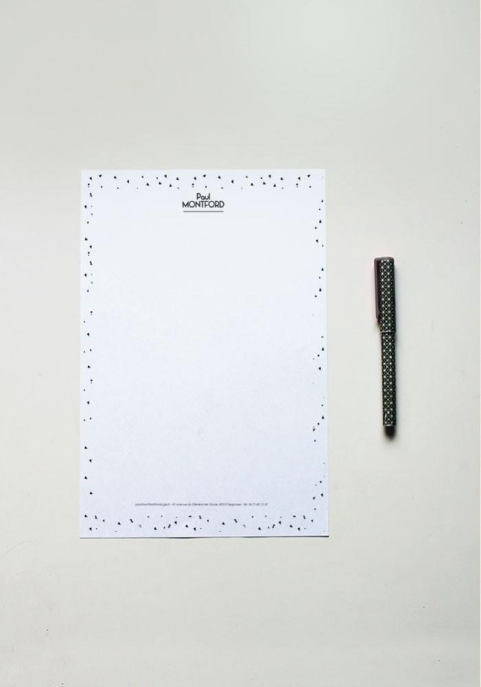 Papier à lettre - N°2