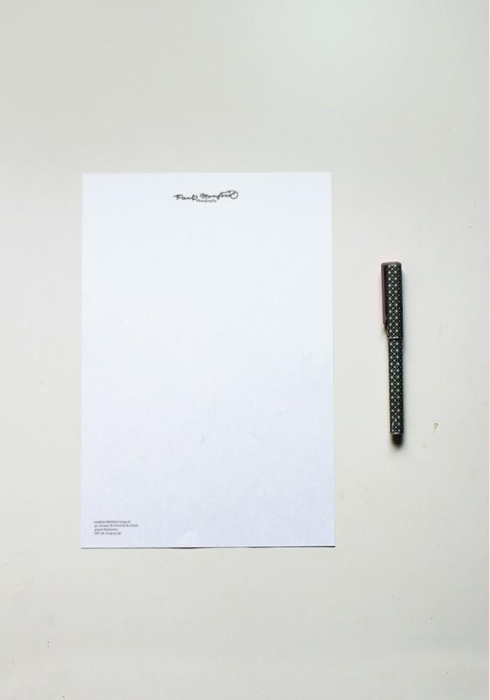 Papier à lettre - N°3