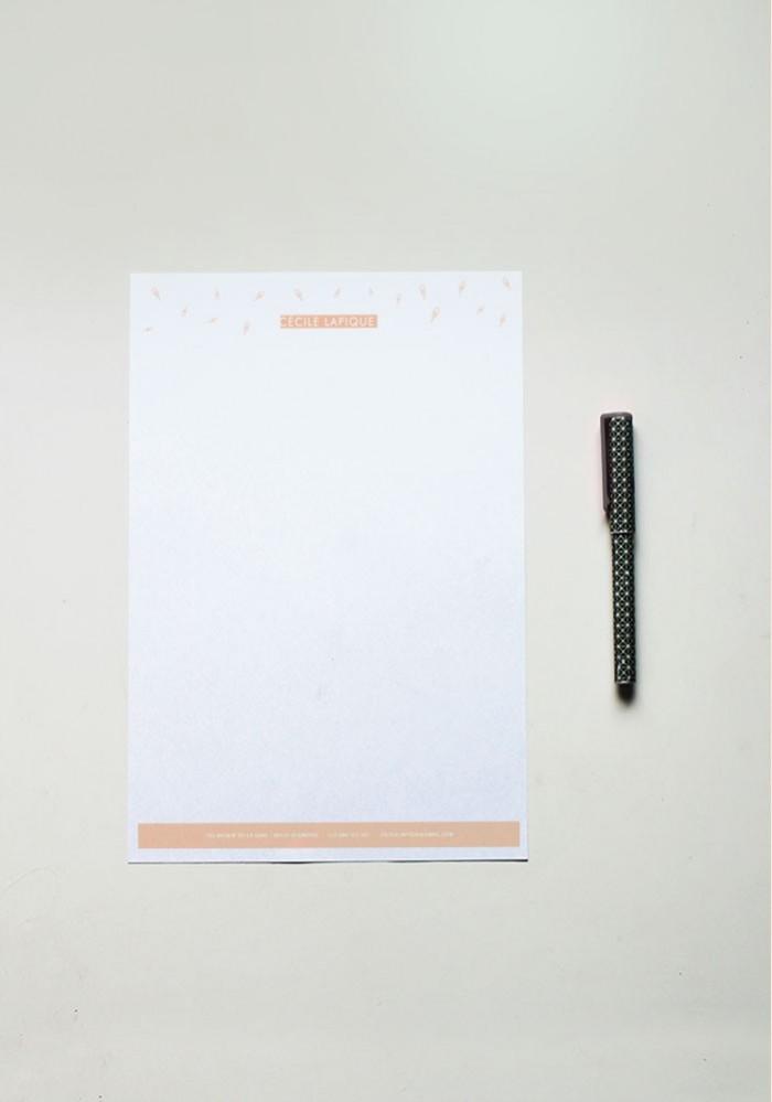 Papier à lettre - N°9