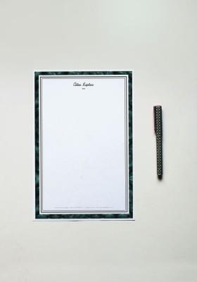 Papier à lettre - N°10
