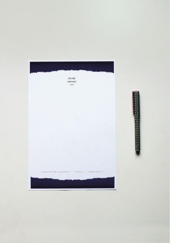 Papier à lettre - N°11