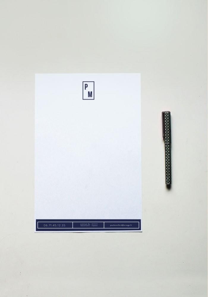 Papier à lettre - N°12