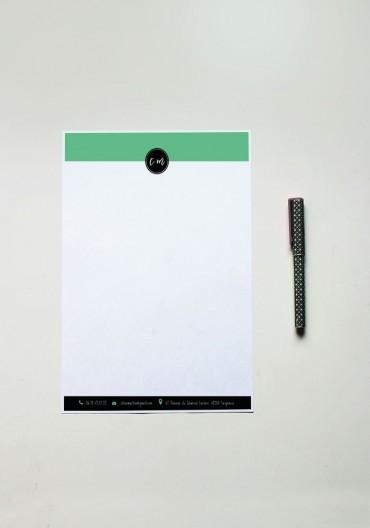 Papier à lettre - N°13