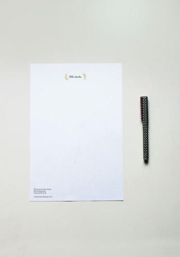 Papier à lettre - N°14