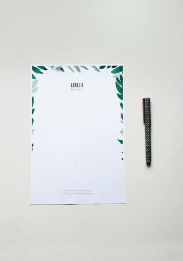 Papier à lettre - N°16