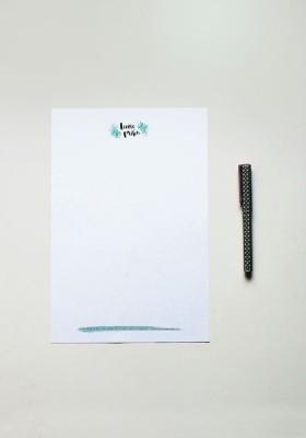 Papier à lettre - N°18