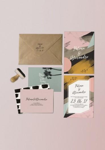 La nouvelle collection papeterie mariage 2017 est en ligne. Retrouvez le thème Terra nova, avec ses couleurs chaudes et son ambi