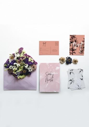 Collection papeterie mariage 2017, Thème champêtre chic, nature et  bohème