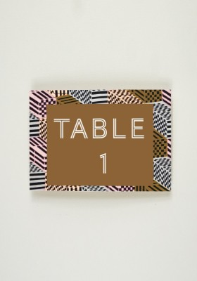 Nom de Table - Tribe