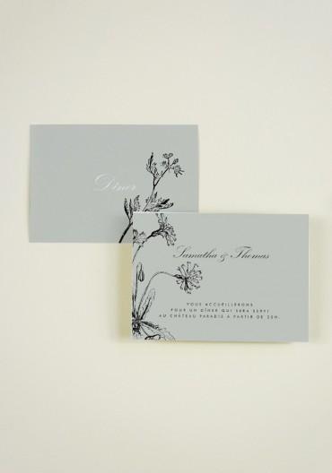 Carton  supplementaire - Fleurs Sauvages
