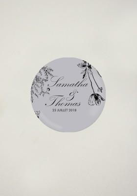 Stikers - Fleurs Sauvages