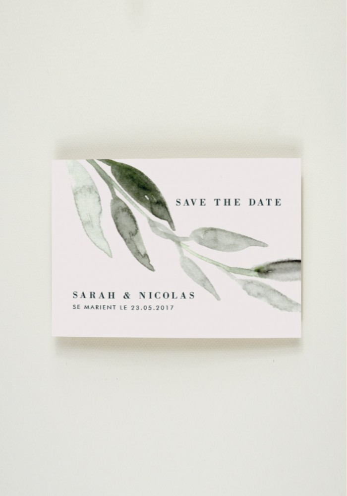 Save the Date - Wedding is the New Black
