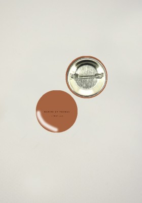 Badges - Terracotta