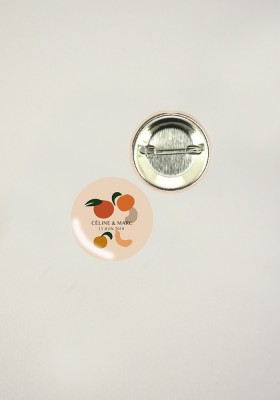 Badges - Fruits d'été