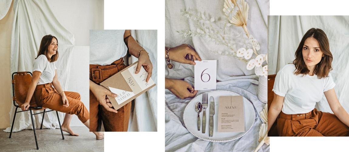 Lise Mailman Papeterir mariage pour Ruban Collectif